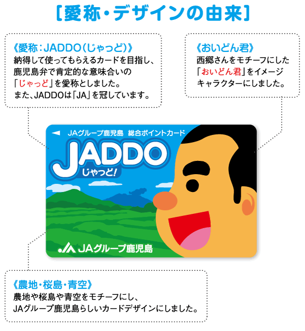 JADDOカードとは   JAグループ鹿児島総合ポイントカードJADDO